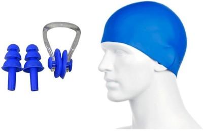 BLT Cap, Nose Clip & Ear Plug Swimming Kit