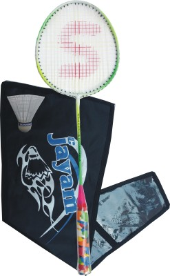 Jayam Rangela (1 Racket + 1 Shuttle + Cover) Badminton Kit
