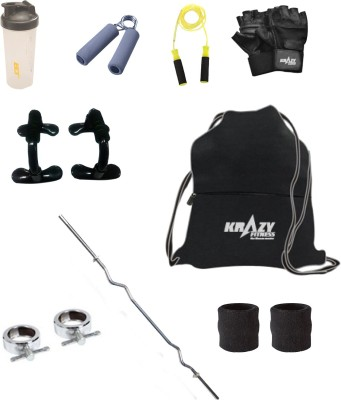 Krazy Fitness Exercise Accessories Combo 9 Gym & Fitness Kit