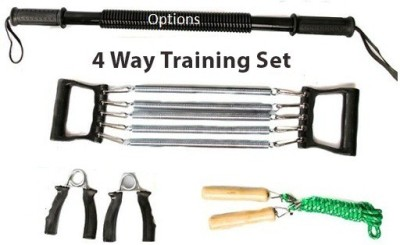 Options 4-Way Traning Set Gym & Fitness Kit