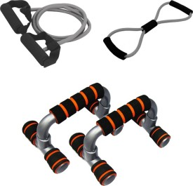 Mor Sporting Single Toning Tube,8shaped Yoga latex tube,foldable Push up bar Gym & Fitness Kit