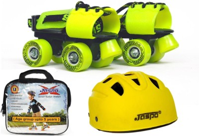 Jaspo Next -Gen Dual junior Skates Combo (skates+helmet+bag)suitable for age upto 5 years Skating Kit