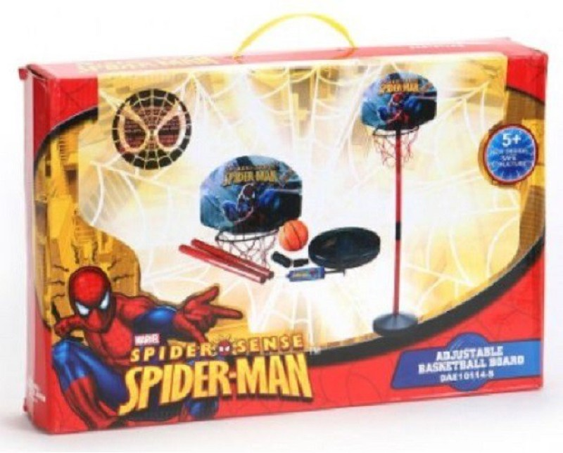 Spiderman Adjustable Basketball Kit