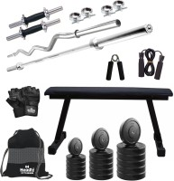 Headly 45 kg Combo BB 7 Convenient Gym & Fitness Kit