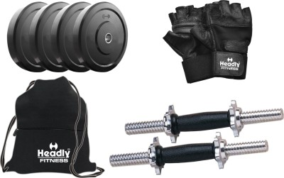 Headly 10 kg DMCombo 3 Home Gym & Fitness Kit