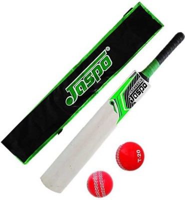 Jaspo Popular Willow Bat And Ball Cricket Kit