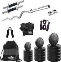 Headly 40 kg Combo BB 3 Convenient Gym & Fitness Kit