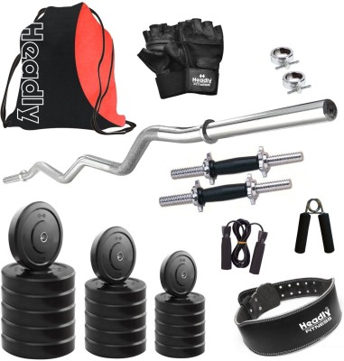 Headly HR-55 kg Combo 23 Gym & Fitness Kit