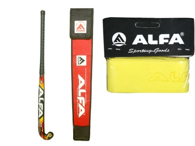 Alfa ALFA Hockey CaStle With Cover & Grip Hockey Kit