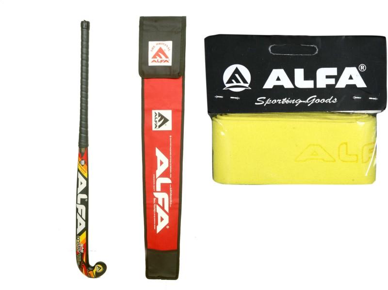 Alfa ALFA Hockey CaStle With Cover & Grip Hockey Kit