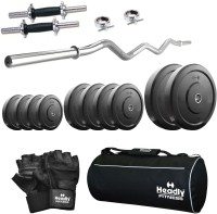 Headly Home 15 kg Combo AA4 Gym & Fitness Kit