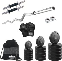 Headly 15 kg Combo BB 4 Convenient Gym & Fitness Kit