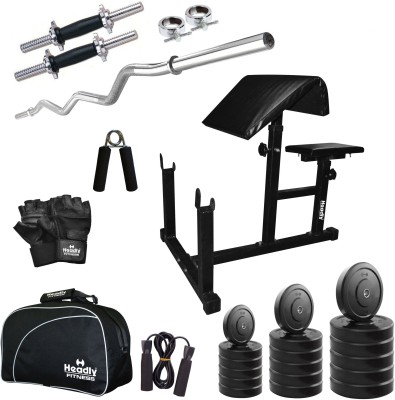 Headly 18 kg Combo CC 11 Total Gym & Fitness Kit