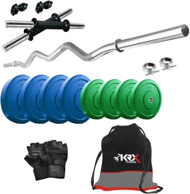 KRX Premium CP-20 KG COMBO 4 Gym & Fitness Kit