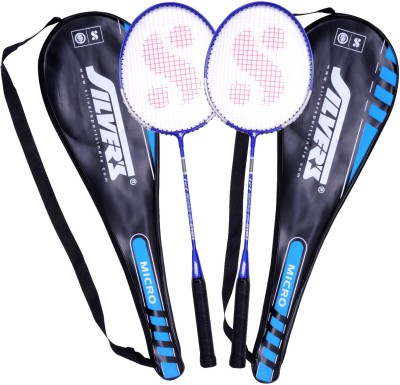 Silver's Micro Badminton Kit(2 Racquets with Cover)
