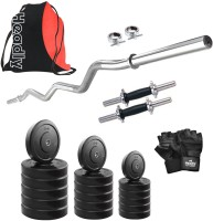 Headly HR-52 kg Combo 4 Gym & Fitness Kit