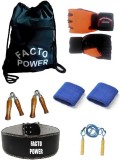 Facto Power Orange Gym Gloves, Gym Bag, ...