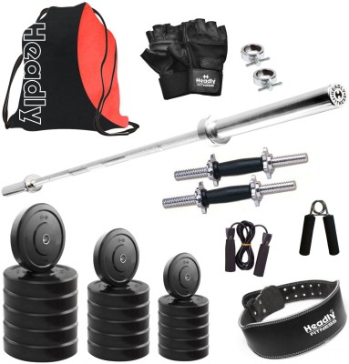 Headly HR-8 kg Combo 29 Gym & Fitness Kit