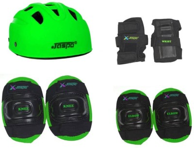 Jaspo SX 4 protective set green Skating, Cycling Kit