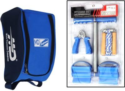 MD Fitness Set - 3pcs with Bag Gym & Fitness Kit