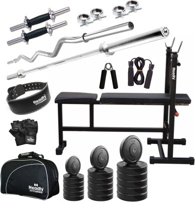 Headly 62 kg Combo CC 6 Total Gym & Fitness Kit