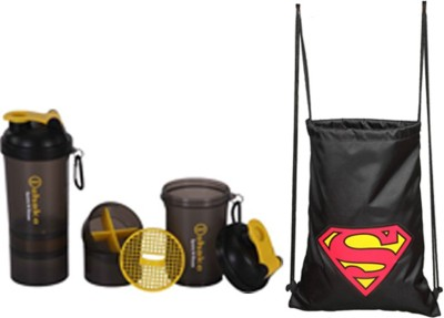 BLT Superman With Shaker Gym & Fitness Kit