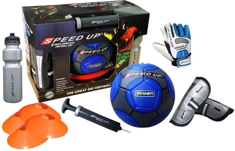 Speed Up Complete 6pcs Training Combo Football Kit