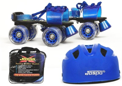 Jaspo Passion Dual Superior Senior Skates Combo (skates+helmet+bag)suitable for age 6 to 14 years Skating Kit