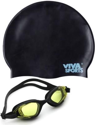 Viva Sports Viva 130 & silicone cap Swimming Kit