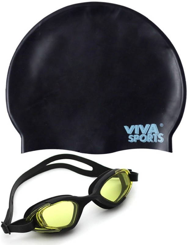 Viva Sports Viva 130 & silicone cap Swimming Kit