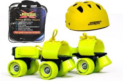 Jaspo Jaspo Power Pack Dual Senior Skates Combo (skates+helmet+bag)suitable for age 6 to 14 years Skating Kit
