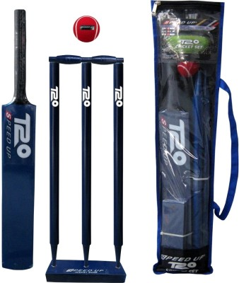 Speed Up 1691-4-Bl-T20 Combo Cricket Kit