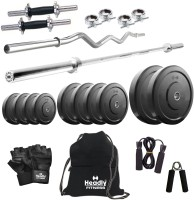 Headly 65 kg Combo 2 Home Gym & Fitness Kit