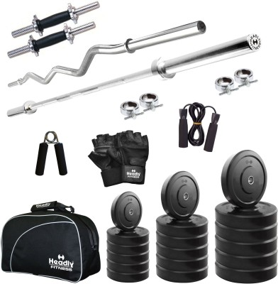 Headly 10 kg Combo CC 2 Total Gym & Fitness Kit