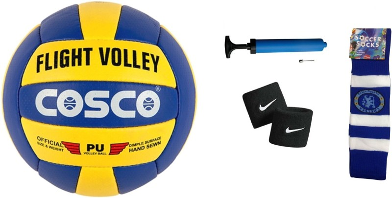 Cosco Flight Volleyball Combo Volleyball Kit