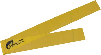 Sahni Sports U Light Aerobic Band(Yellow, Pack of 1)