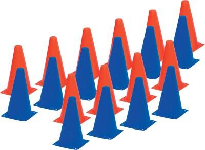 Vinex 9 Inch Cones Football Kit