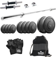 Headly 38 kg Combo 10 Home Gym & Fitness Kit