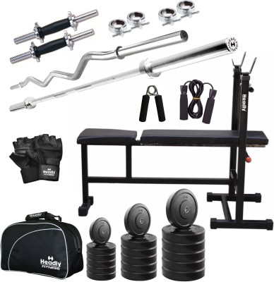 Headly 75 kg Combo CC 5 Total Gym & Fitness Kit