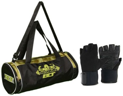 BLT Passion Duffel Bag With 1 Pair Exercise Gloves Gym & Fitness Kit
