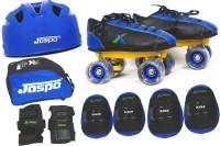 Jaspo Jaspo Waves Pro Shoe Skates Combo SIZE 2 UK (shoe skates+ helmet+knee+elbow+wrist+bag) Foot length 22.9 cms ( For age group 8-9 years) Skating K