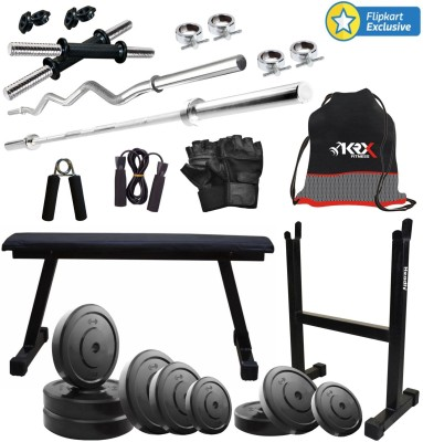 KRX 45 KG COMBO 16 Gym & Fitness Kit