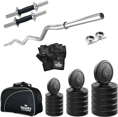 Headly 55 kg Combo CC 4 Total Gym & Fitness Kit