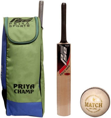 Priya sports Gold with W Cric Cricket Kit