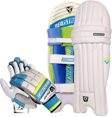 Neo strike Pro600 glove and Pro700 Pad for Mens Cricket Kit