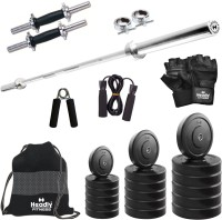 Headly 25 kg Combo BB 9 Convenient Gym & Fitness Kit