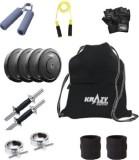 Krazy Fitness Adjustable Dumbbells 8Kg W...