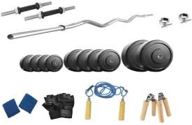 Protoner 72 Kgs & 3 Rods Gym & Fitness Kit