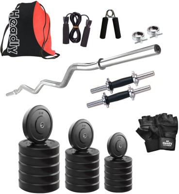 Headly HR-52 kg Combo 3 Gym & Fitness Kit