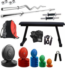Headly Premium CP-HR-68KGCOMBO7 Coloured Gym & Fitness Kit